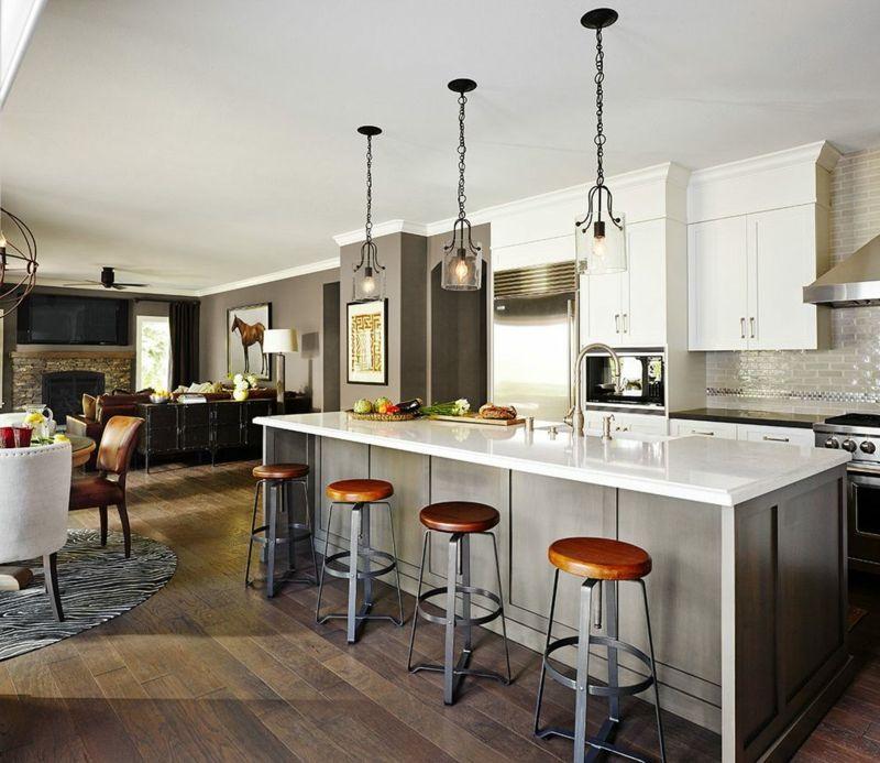 Wäre eine offene Küche das richtige für Sie? Interiors - ideen offene kuche wohnzimmer
