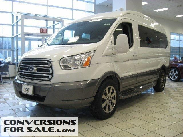 2015 Ford Transit 150 Explorer Conversion Van Ford Transit Van Conversion Vans