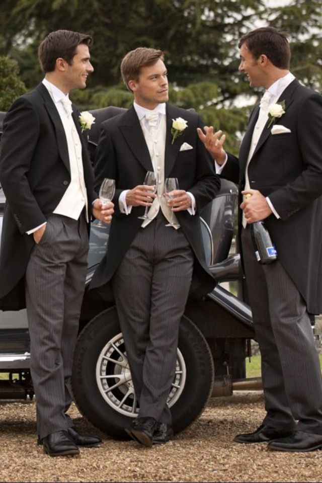 Groomsmen - lovely but maybe a bit too formal …   Pinteres…