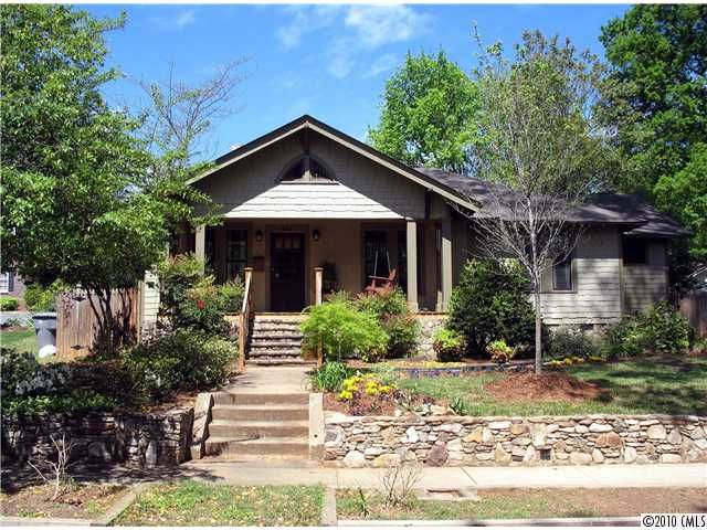Craftsman home in elizabeth charlotte nc charlotte for Craftsman homes in charlotte nc