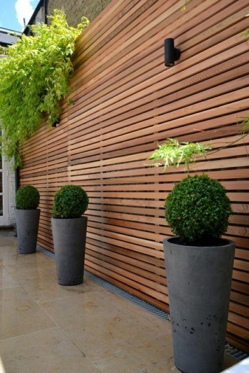 Sichtschutz Garten Holz Wohn Ideen Mobilehousie Garten - trennwand garten holz
