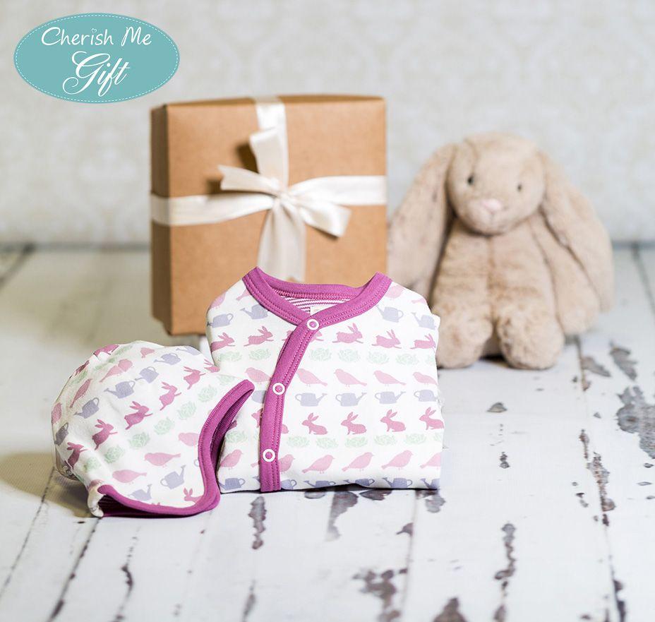 Cherish Me Baby Gift - Raspberry Springtime