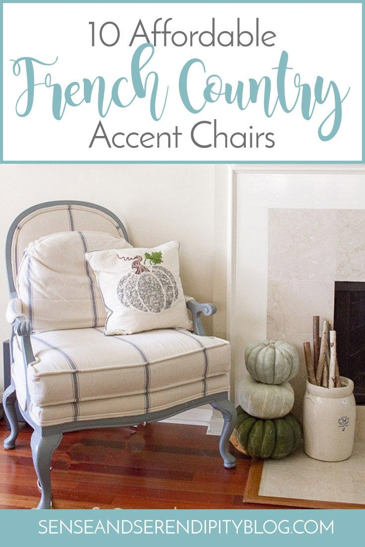 10 Affordable French Country Accent Chairs Sense