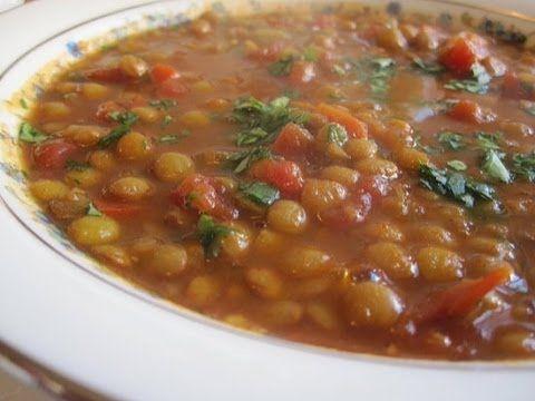 Youtube Vegetarian Chili Recipe Recipes Lentil Chili