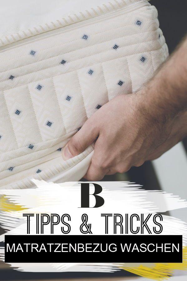 Matratzenbezug Waschen So Einfach Geht S Matratze Wasche Haushalts Tipps