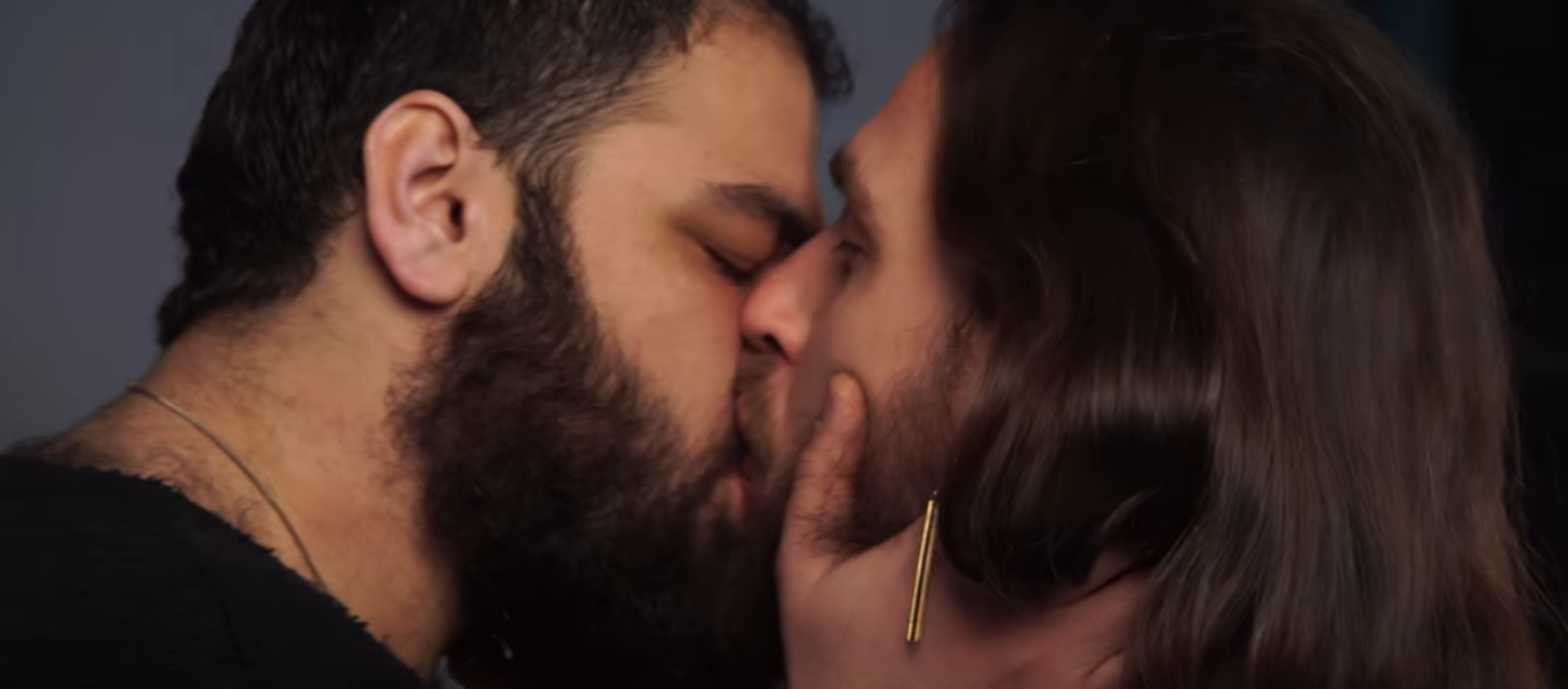 from Konnor gay male palestinians kissing