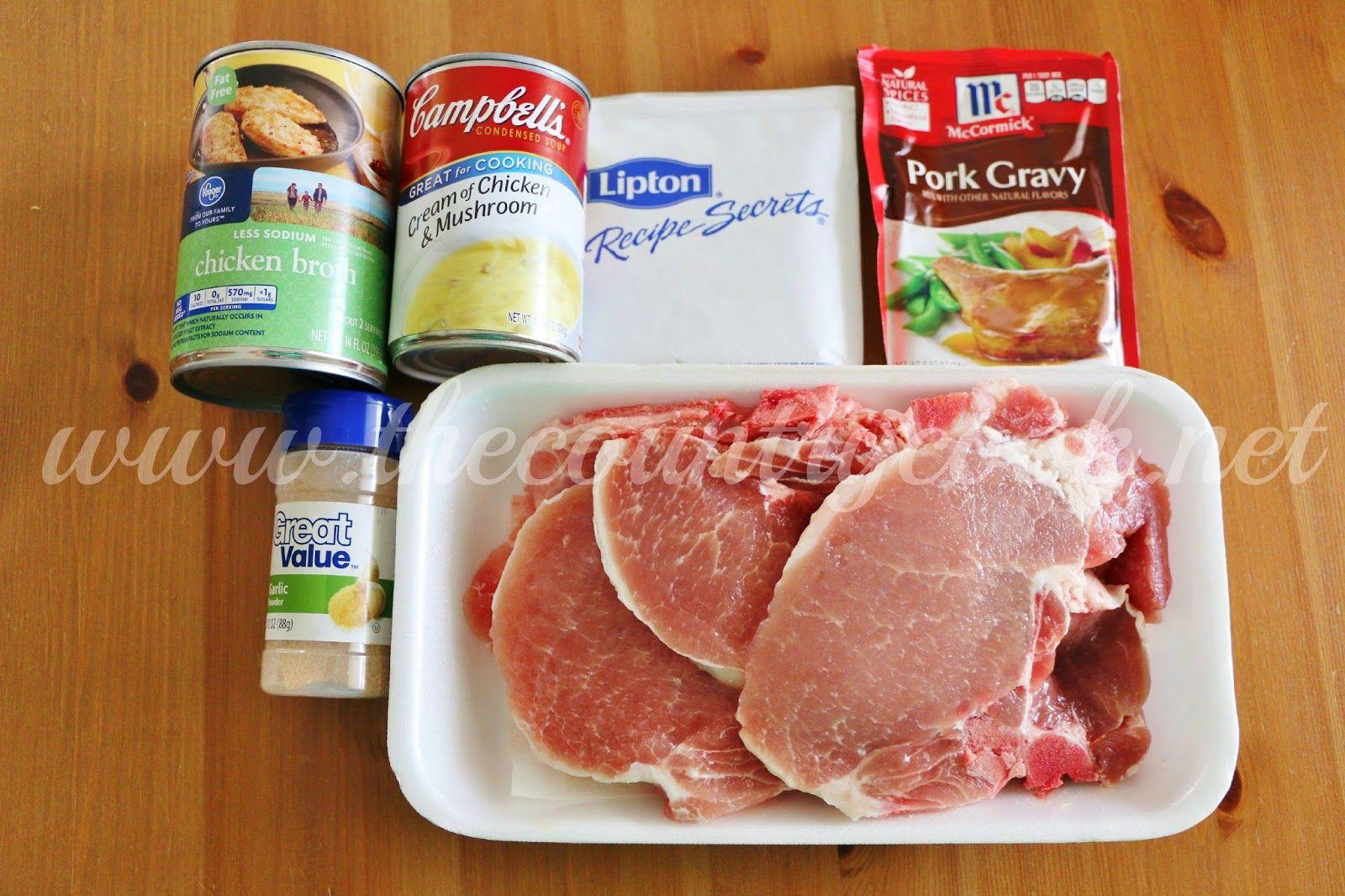Crock Pot Pork Chops And Gravy Video Recipe Pork Chops And Gravy Slow Cooker Pork Recipes