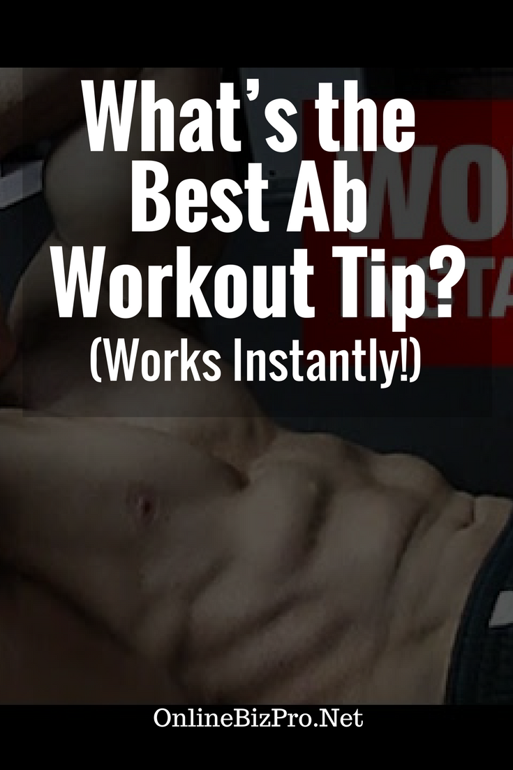 Best Ab Workout Tips Easy To Do At Home