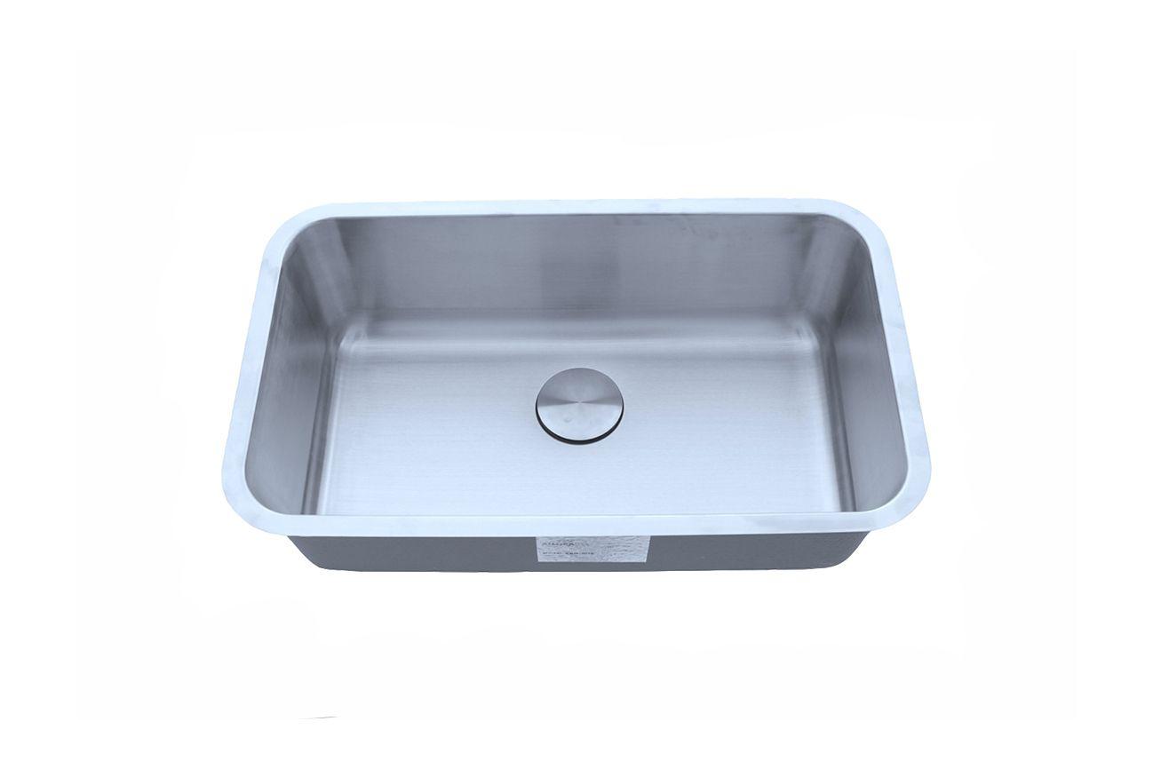 Ksn 3018 8 Undermount Single Bowl Kitchen Sink Large Kitchen