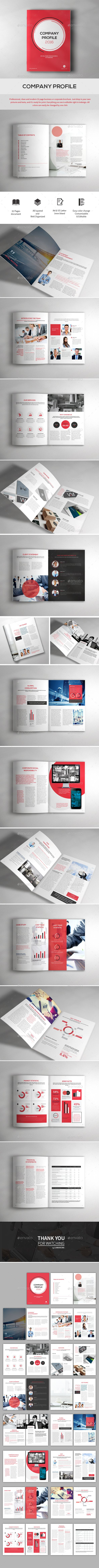 Company Profile | Pinterest | Company profile, Indesign templates ...