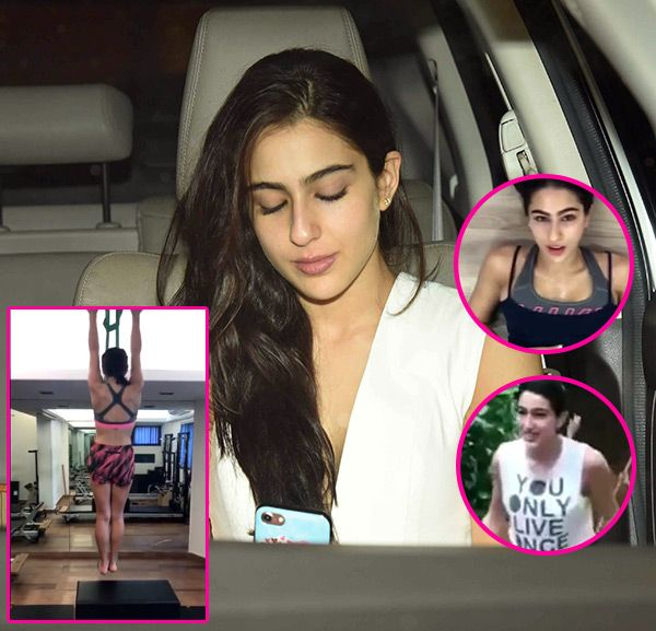 Is Kareena Kapoor Khan the source of inspiration of Sara Ali Khan's intensive workout regime? watch videos #FansnStars