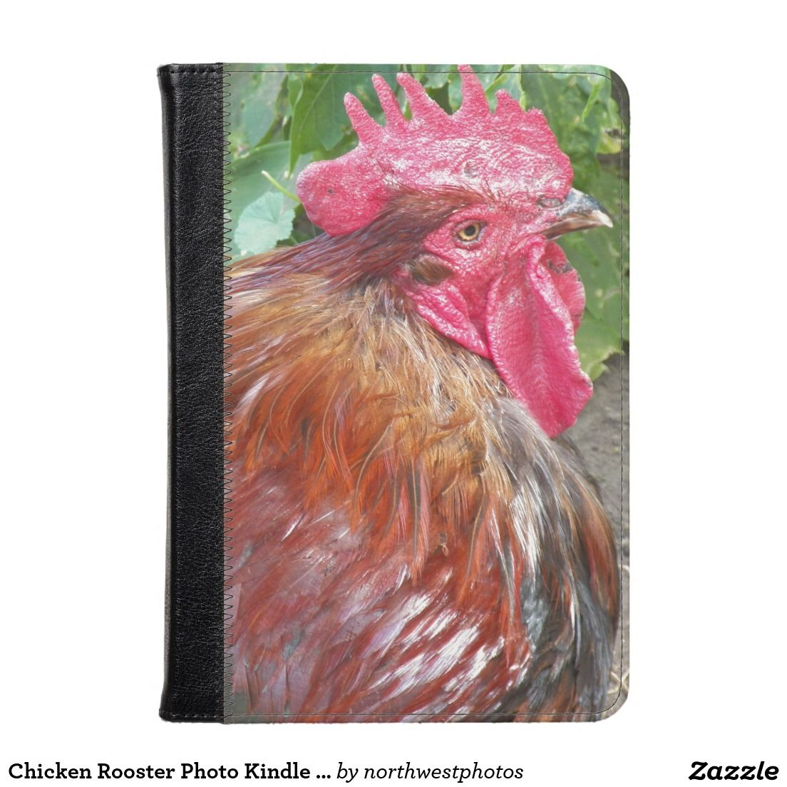 Chicken Rooster Photo Kindle Case