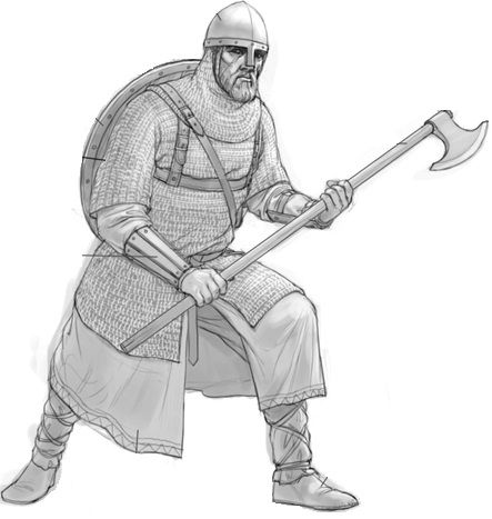 Image result for picture of a viking guard