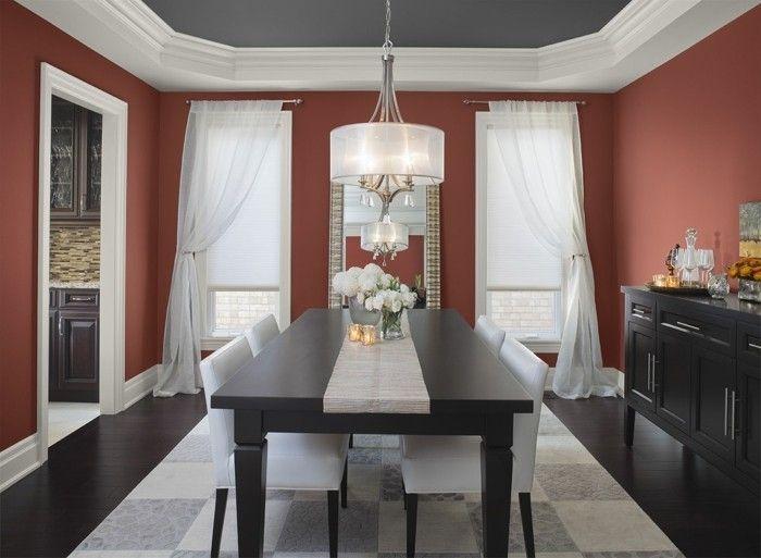 Peinture salle à manger - 77 idées charmantes Interiors