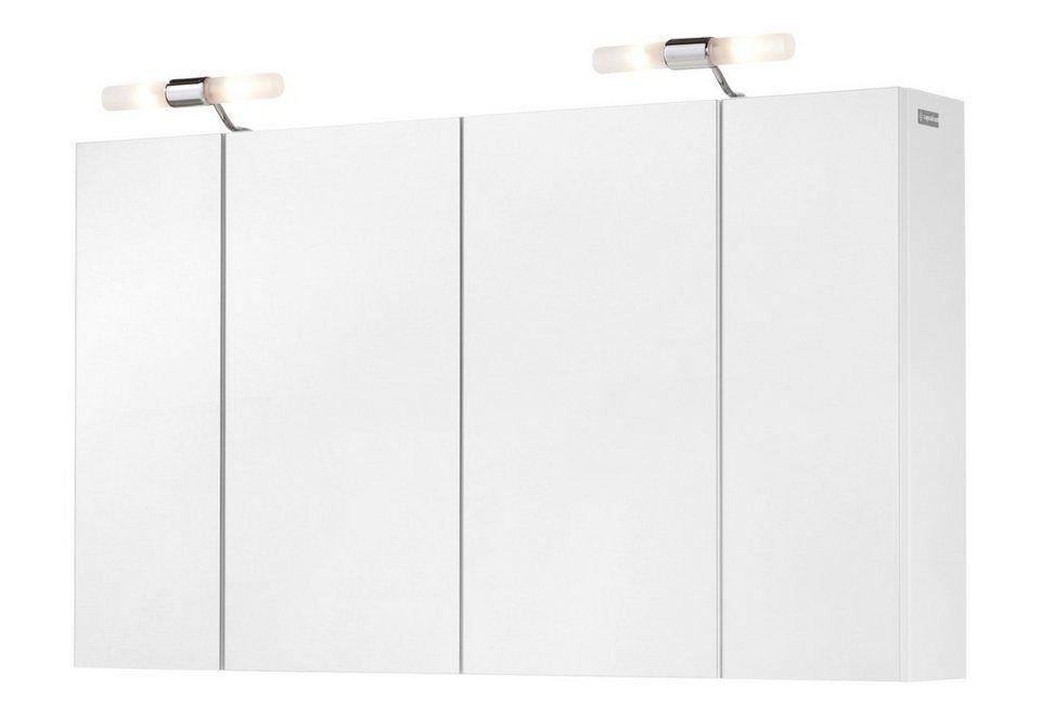 Aquaform Spiegelschrank Posen Breite 103 Cm Mit Beleuchtung Fur