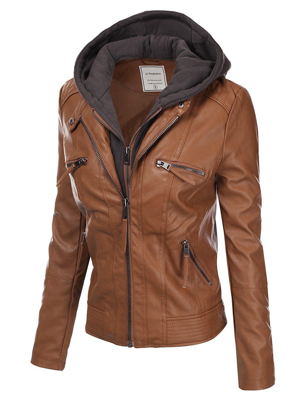 28aa9bd65582a Aviatrix Veste De Motard Ultra-Elegante en Cuir veritable Super Doux Femmes  (CRD9): Amazon.fr: Vêtements et accessoires | mode femme | Leather Jacket,  ...