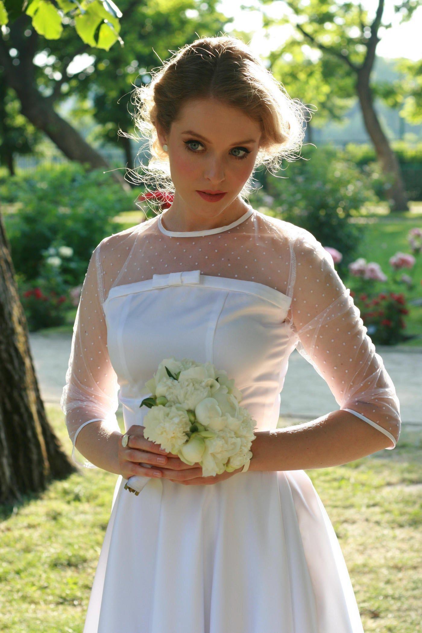 Sexy Backless Wedding Dress, Beautiful Backless Wedding