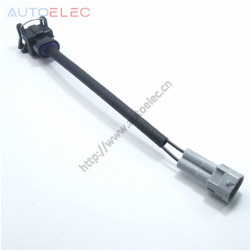 Delphi Ev1 To Nippon Denso Male Rc Fuel Injector Wiring Clips Plugs Vw Harness For Audi