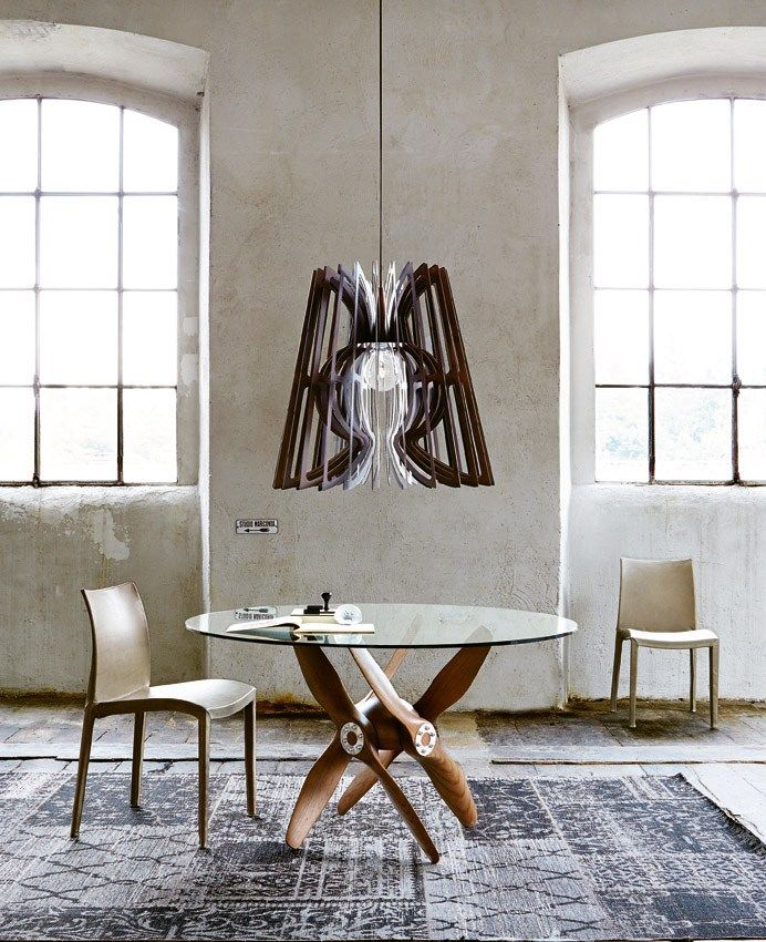 Trendy Dining Table: Round Glass Dining Tables That Make A Stylish Impression