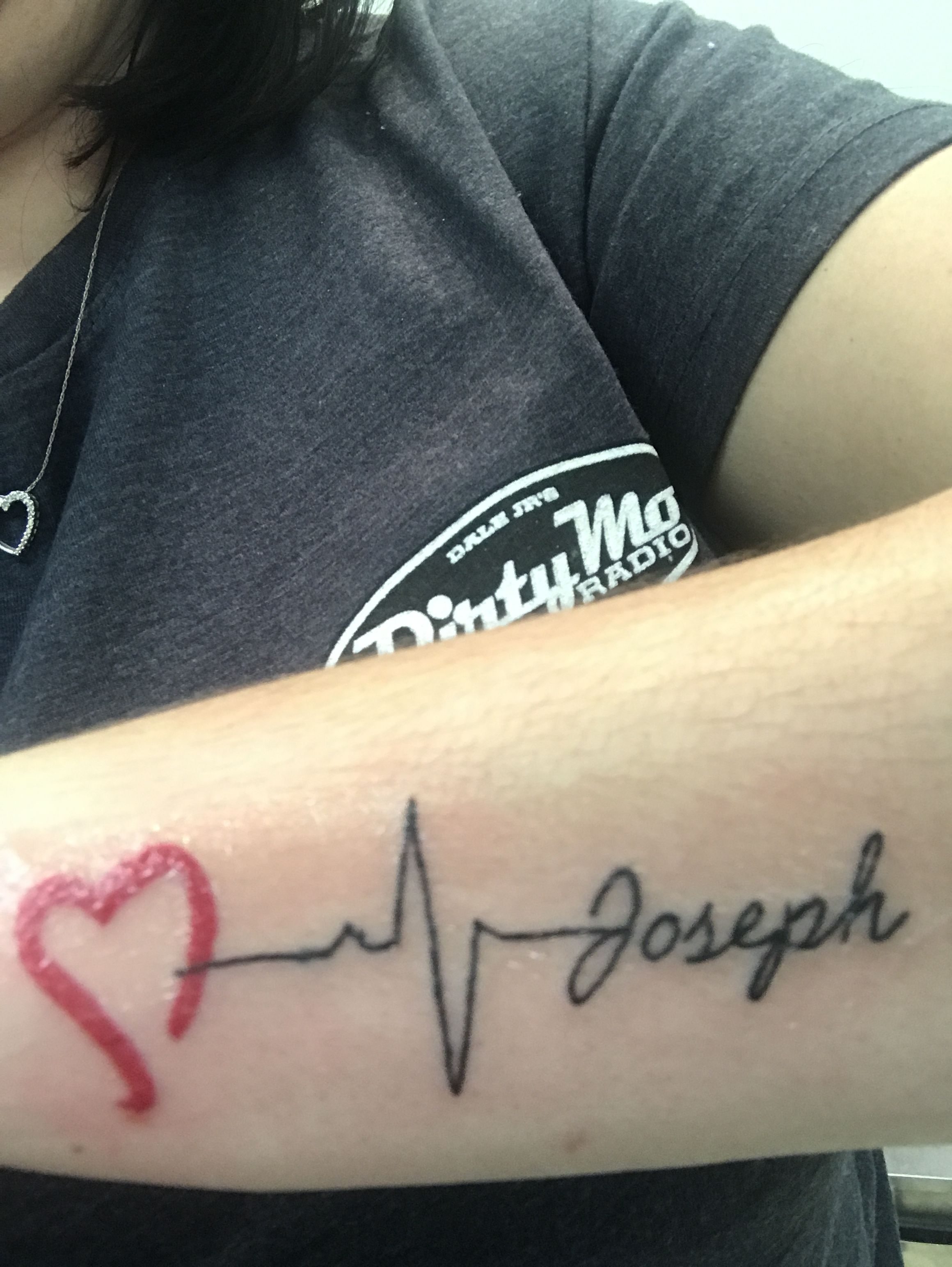 Ekg tattoo ekg tattoo tattoos tattoo quotes