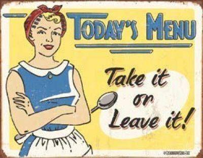 TODAY'S MENU