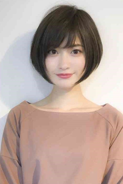 Korean Hairstyles Women In 2020 Japanese Short Hair Shot Hair Styles Asian Short Hair
