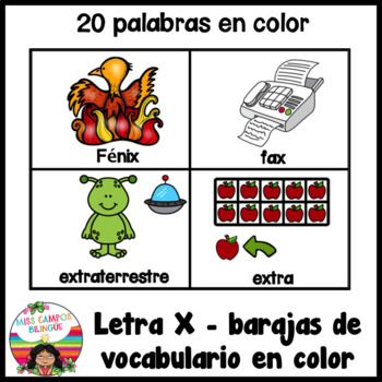 Letra X Silabas Xa Xe Xi Xo Xu Spanish Resources Kindergarten K 1