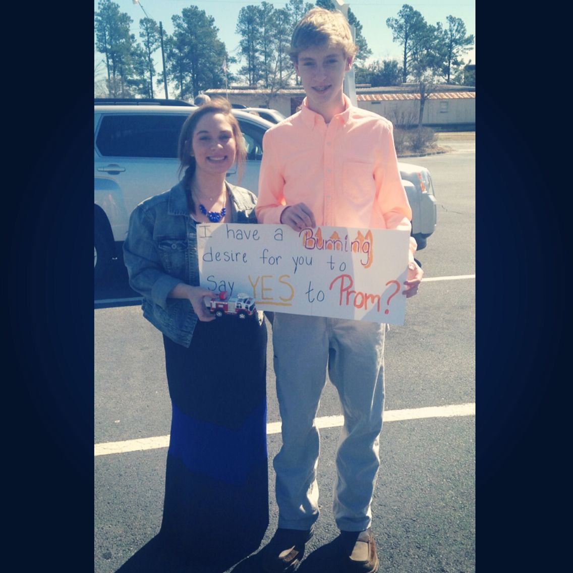 Promposal For My Firefighter.