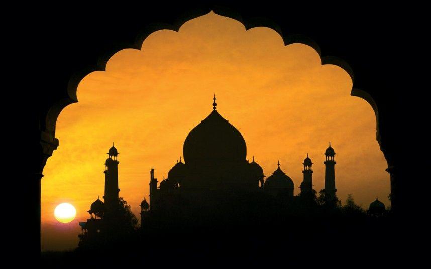 Travel In 2019 Silhouettes Taj Mahal Taj Mahal Drawing
