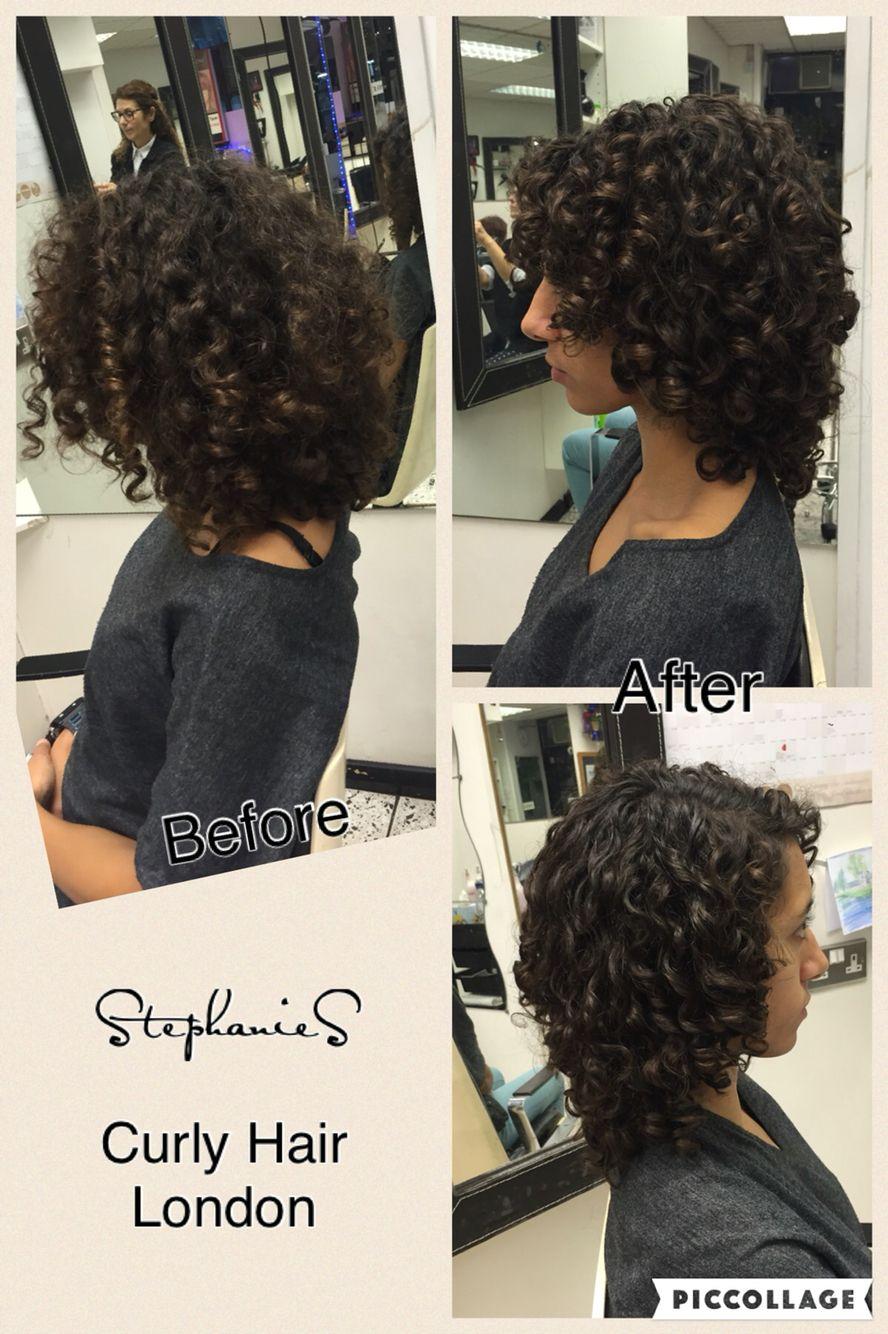Pin on Dry cut  curly hair London