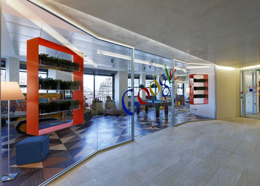 Google Offices in Milan / AMA Albera Monti & Associati