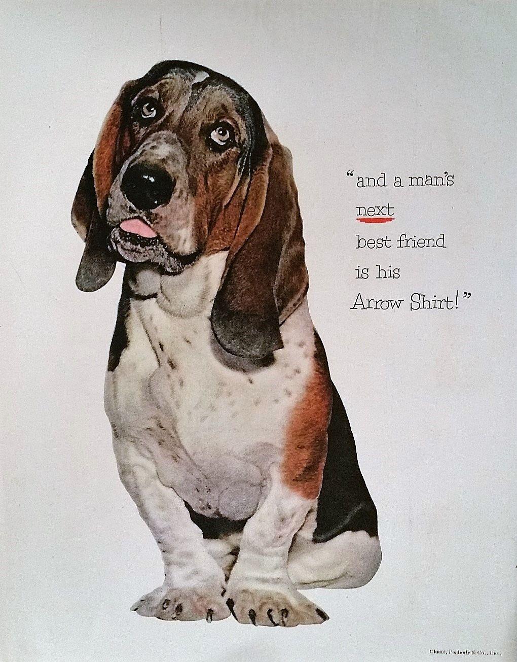 1952 Friskies Dog Food Magazine Advertisement Friskies Dog Food