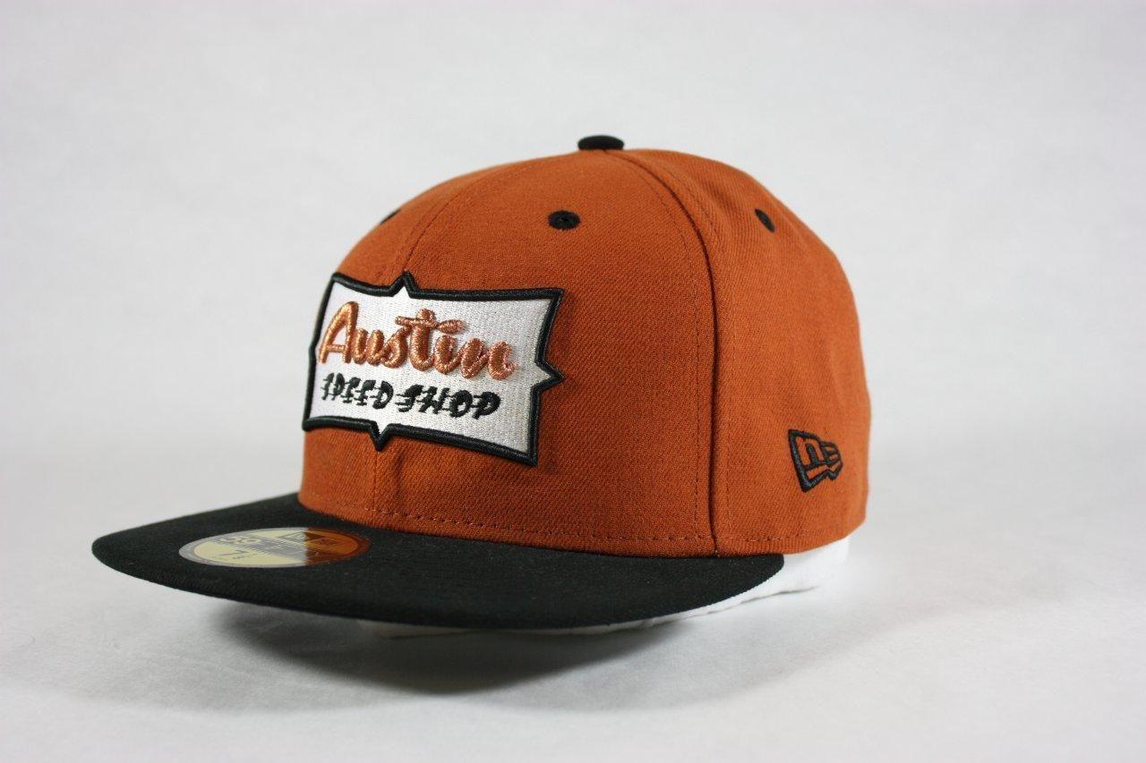 1ec21bda2 Picasso Fitted Cap-Orange: Austin Speed Shop | New Era | Orange hats ...