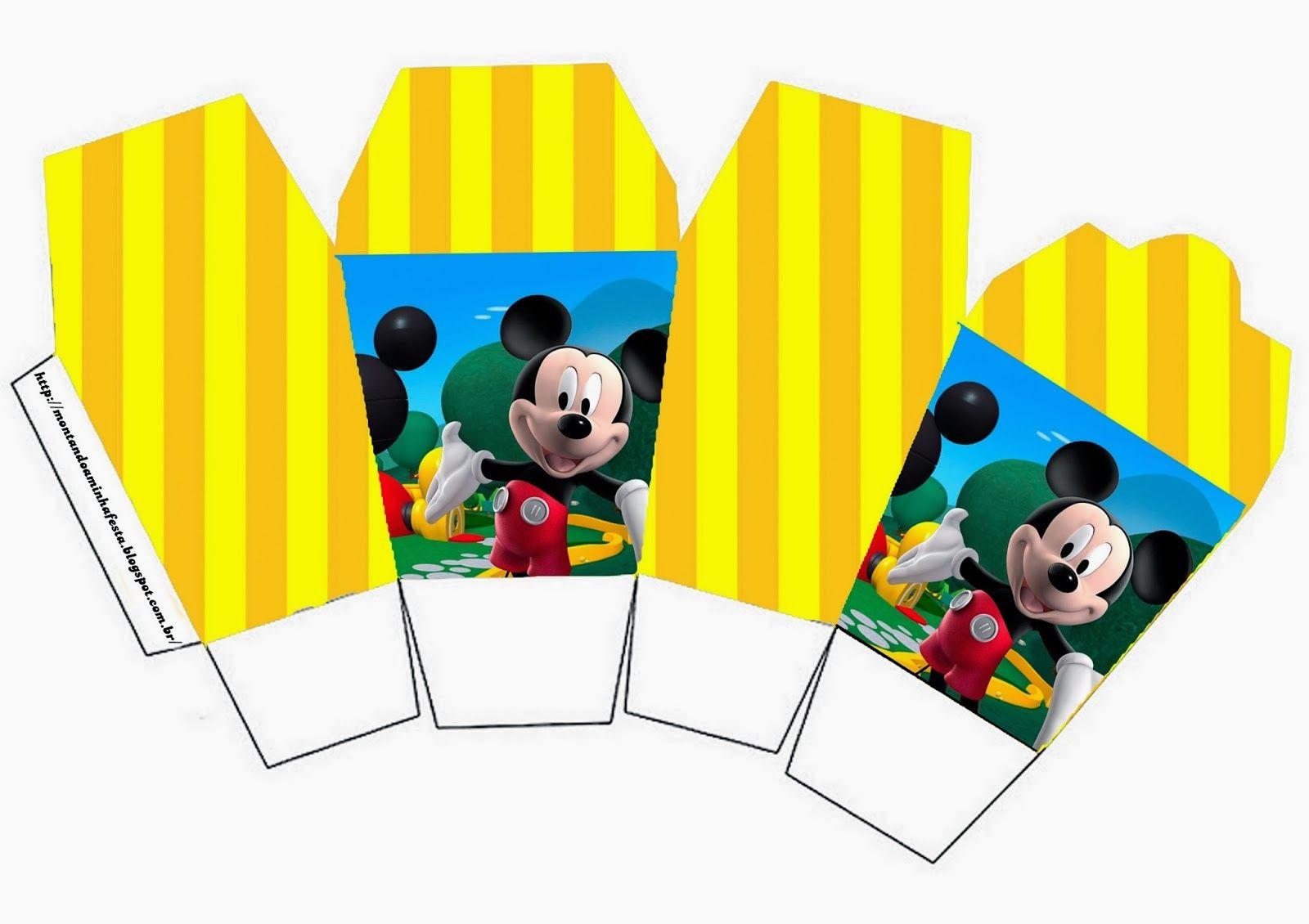 Casa de Mickey: Cajas para Imprimir Gratis. | mimi y micky ...
