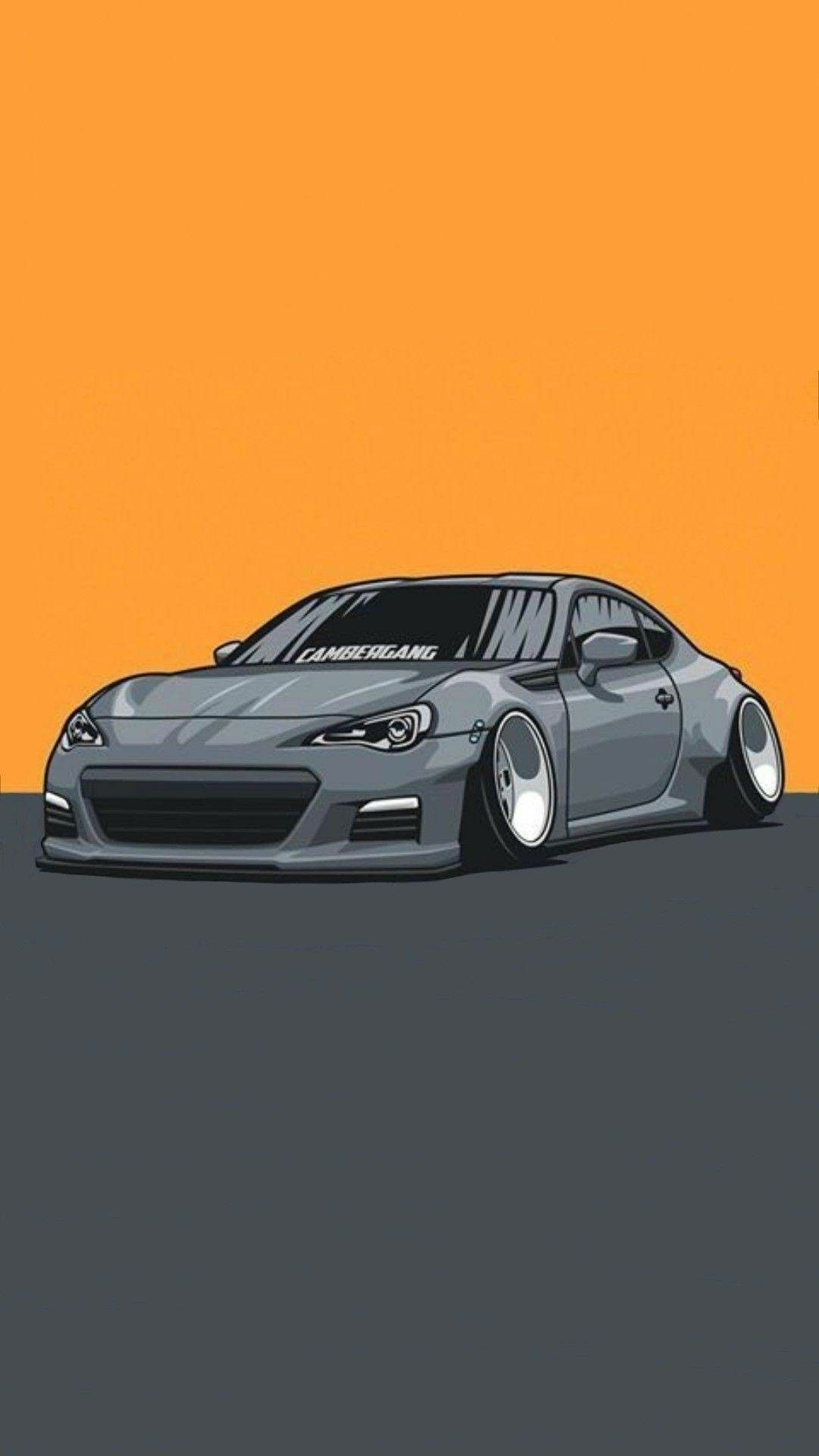 Silver Car Wallpaper With Images Art Cars Jdm Wallpaper