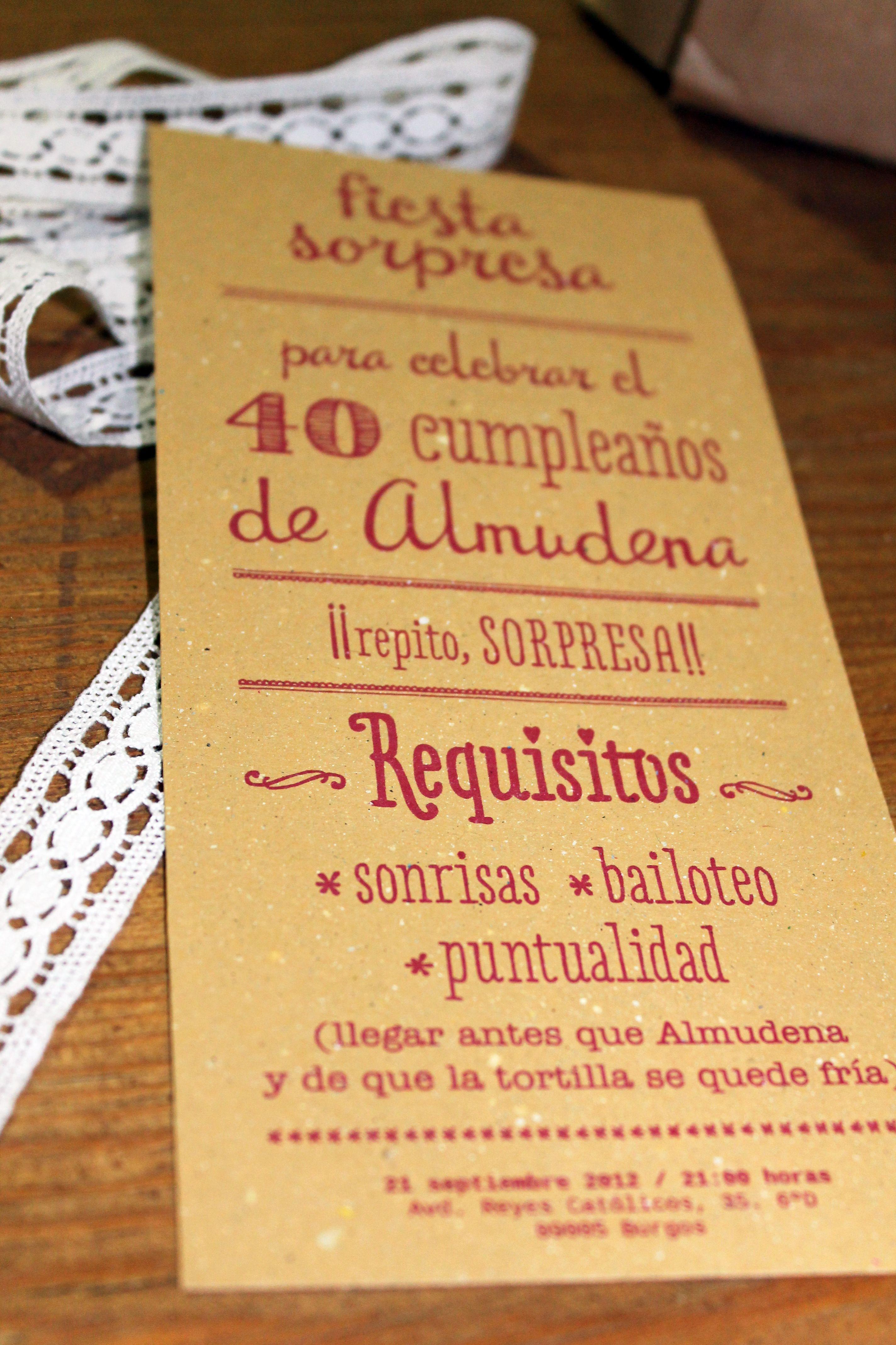Almudena Cumple 40 Años Y Le Preparan Una Fiesta Sorpresa