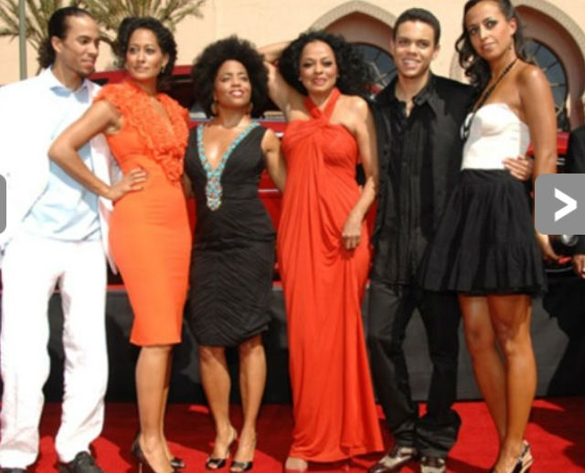Diana Ross clan