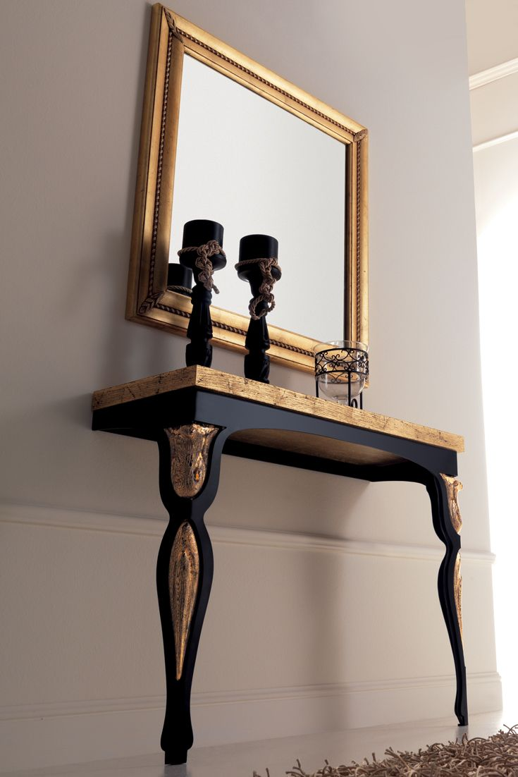 Italian designer 2 leg wall mounted console table in 2019 | Dresser ...