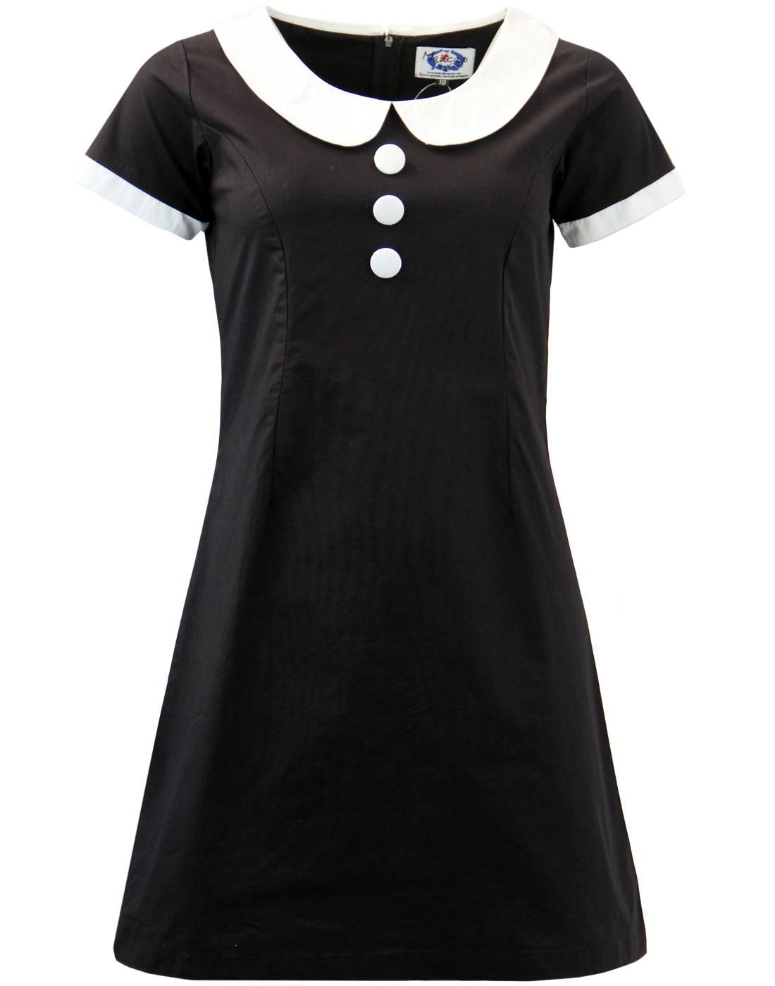 4653e35a7d Domino Madcap England Mod Peter Pan Collar Dress in 2018