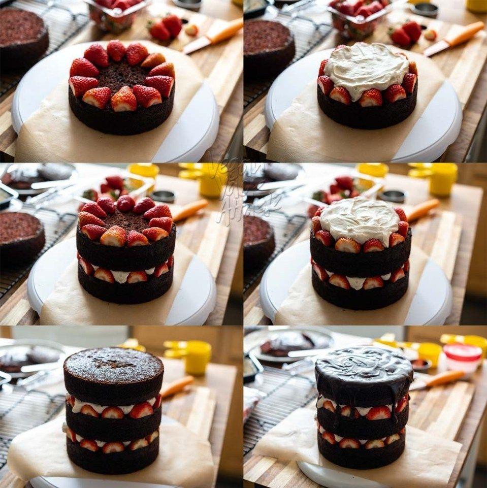 Tiny kitchen vegan vegan chocolate chocolate layer cake