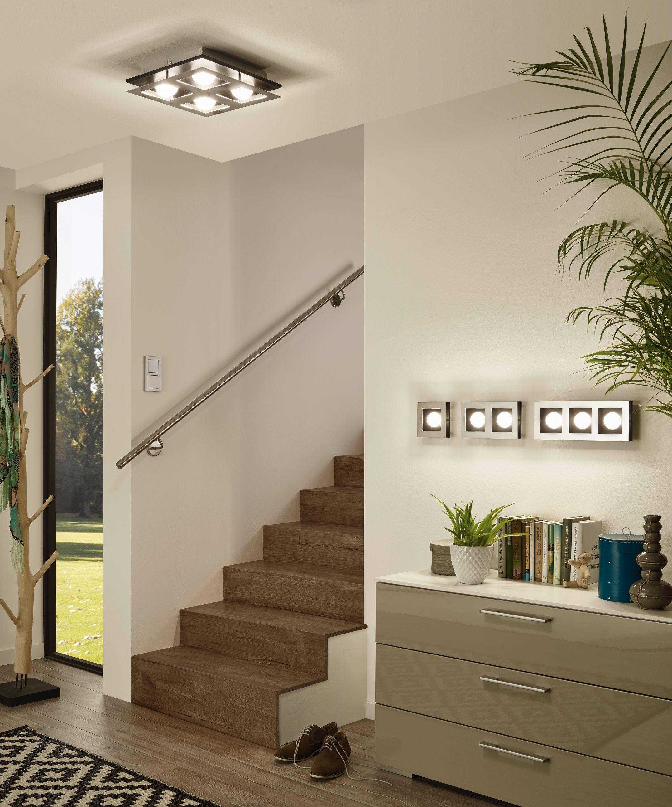 Eglo Lighting / Bellamonte / LED Brushed Aluminium & Black 1, 2 or ...