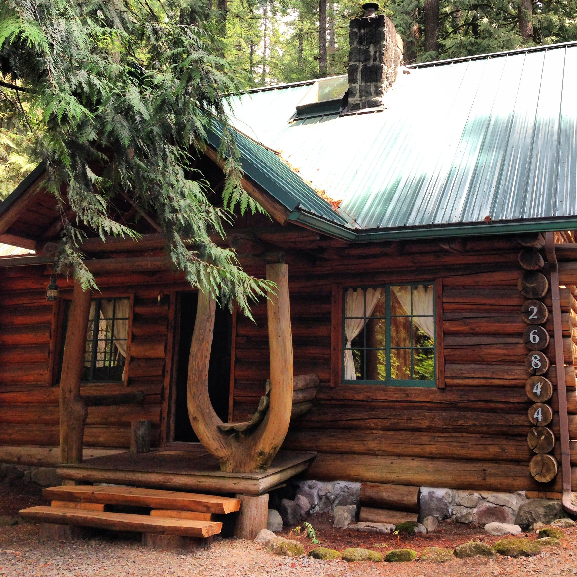 times home montana exterior at part mount travel cozy cabin forest of cabins for seattle rent get rainier log the vacation life deep near mountain