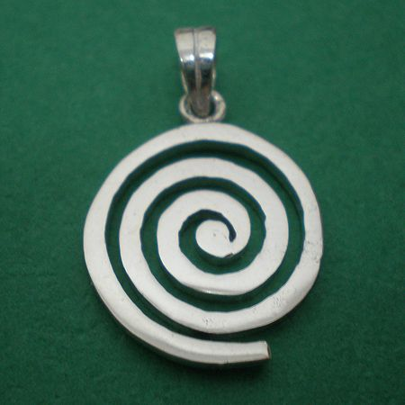Irish celtic spiral jewelry silver pendant pk7424 encantante irish celtic spiral jewelry silver pendant pk7424 mozeypictures Images