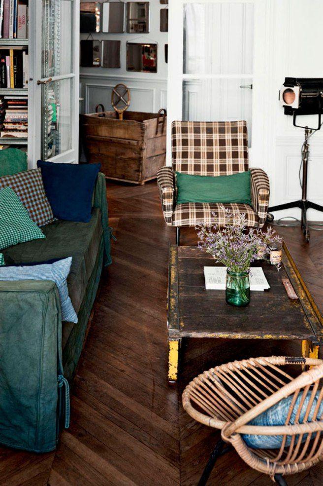 Un Apartamento De Estilo Vintage En Paris Tienda Online De
