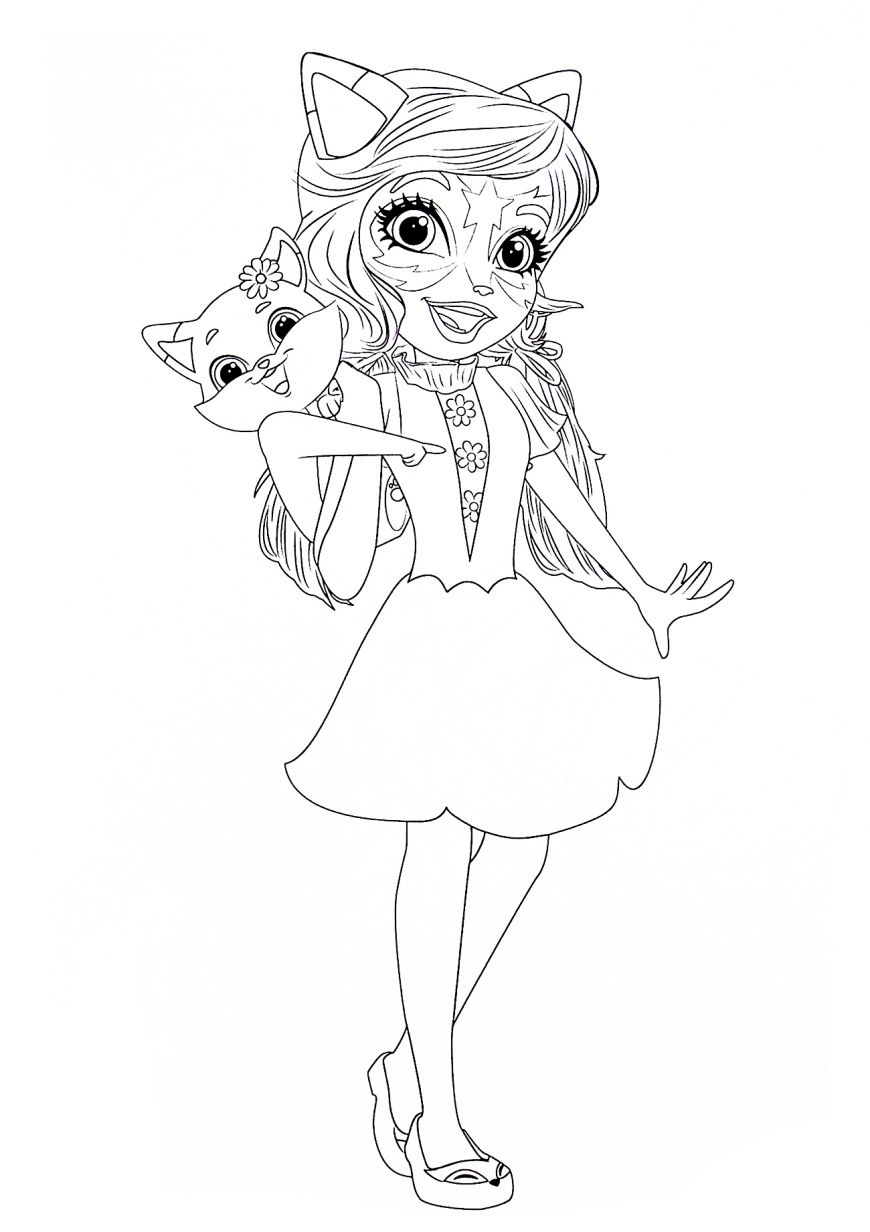 Enchantimals New Free Printable Coloring Pages Poppy Coloring Page Cartoon Coloring Pages Coloring Pages