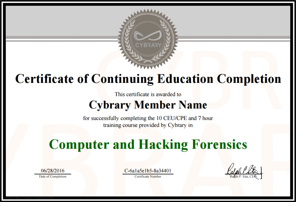 Cybrary is a completely free forever online cyber security cybrary is a completely free forever online cyber security training platform computer securitycertificate templatescontinuing educationtrainingmicrosoft yelopaper Choice Image