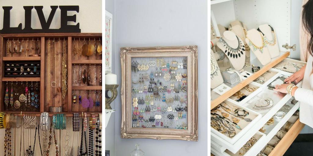 30 schöne Inspirationen zum Aufbewahren Ihrer Juwelen   #Aufbewahren #homeacces…