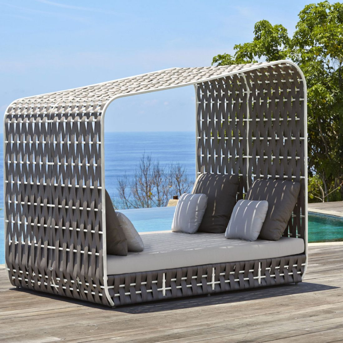 strips daybed by skyline home outdoor daybed modern outdoor rh pinterest com