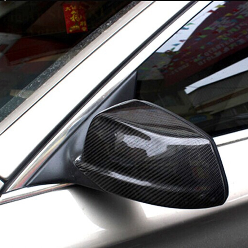 56.99$  Watch here - http://aliqbs.worldwells.pw/go.php?t=32775934989 - For BMW F10 Carbon Fiber Car Outside Wing Mirror Trim Rearview Mirror Cover 3M 2011 2012 2013 56.99$