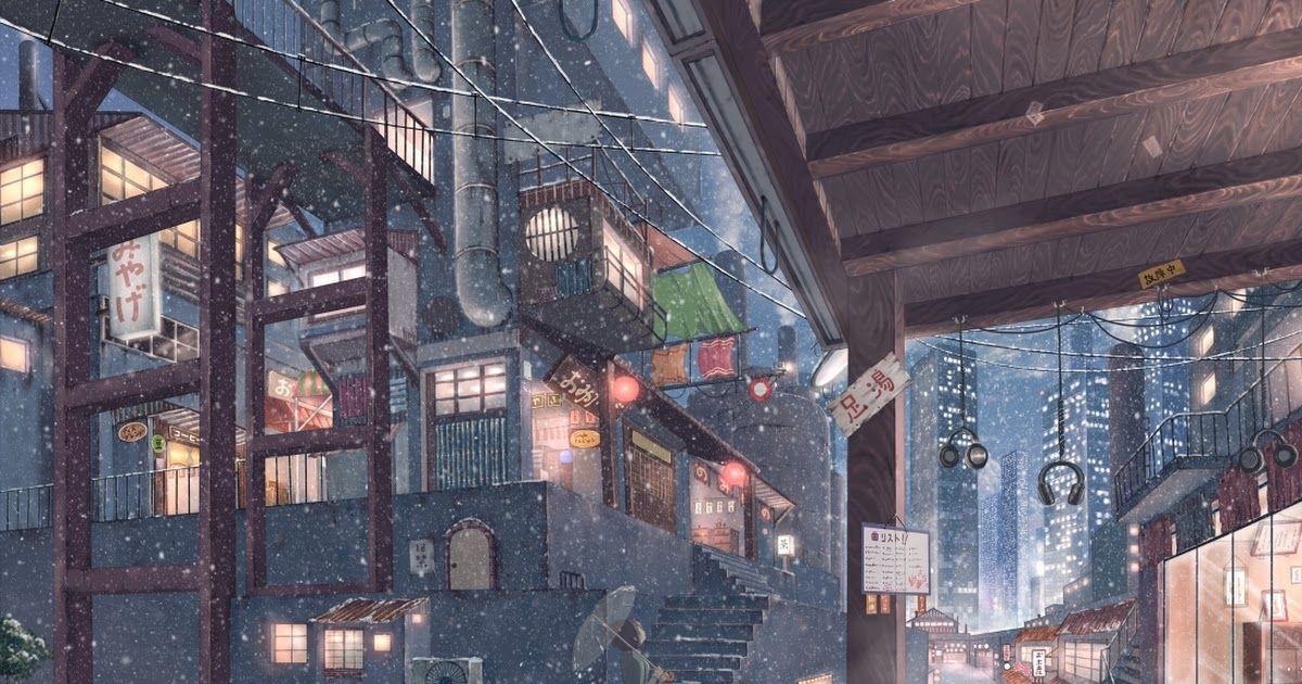 Cola Gotouryouta Full 450674 Jpg Anime City Anime Scenery City Wallpaper